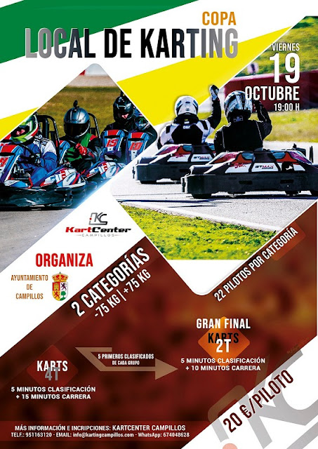 Copa Local de Karting de Campillos 2018