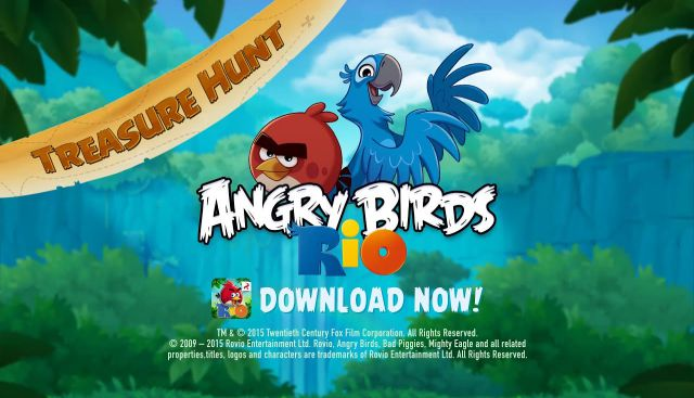 Angry Birds Rio PC Game Free Download