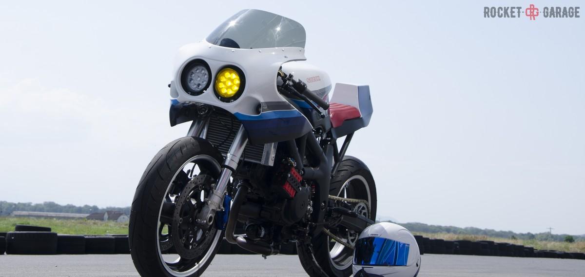 Suzuki Sv650 Caballo De Hierro Rocketgarage Cafe Racer Magazine