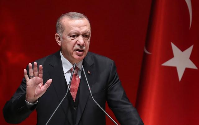 Erdogan: Jika Yunani Berani, Hadapi Kami. Jika Tidak, Enyah Dari Jalan Kami
