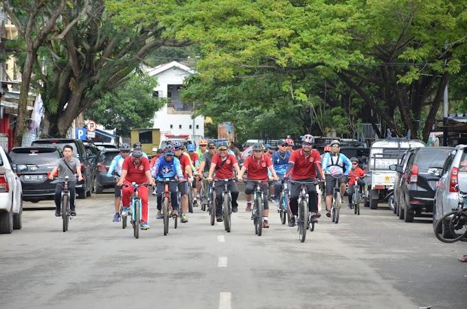 Cross Country Polres Sinjai Sambut HUT Bhayangkara ke-73