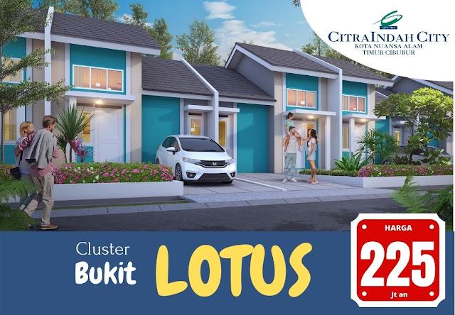 Cluster Bukit LOTUS Citra Indah City - Harga mulai 225 jt an