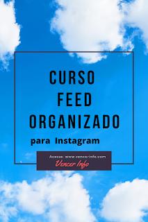 feed organizado para instagram