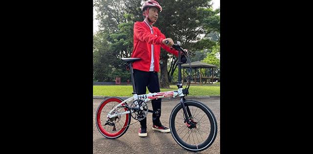 KPK Imbau Presiden Jokowi Laporkan Penerimaan Gratifikasi Sepeda Lipat Dari VJ Daniel