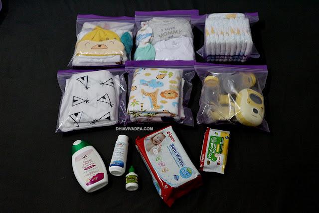 Checklist Barang Persediaan Bayi Selepas Lahir Di Hospital