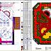 مخطط تهيئة حديقة مونتسيرات برشلونة اوتوكاد dwg