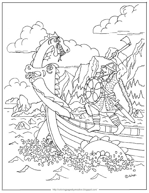 Coloring Pages for Kids by Mr. Adron