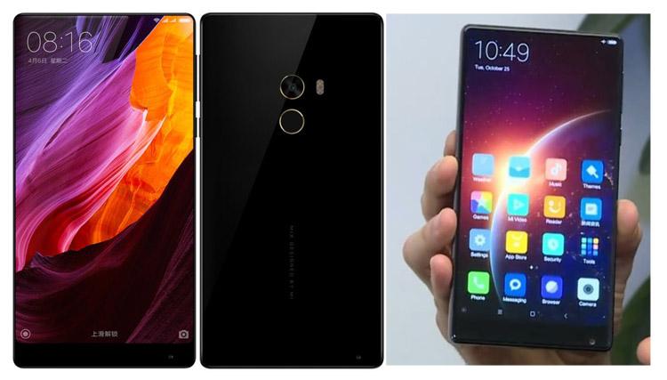 Xiaomi Mi Mix hp Android tanpa bezel