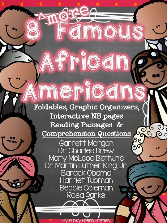 African American Living Room Apartment Decor: Funky Fresh Firsties: 8 More Famous African Americans
