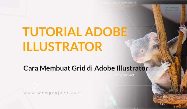 Cara Membuat Grid di Adobe Illustrator