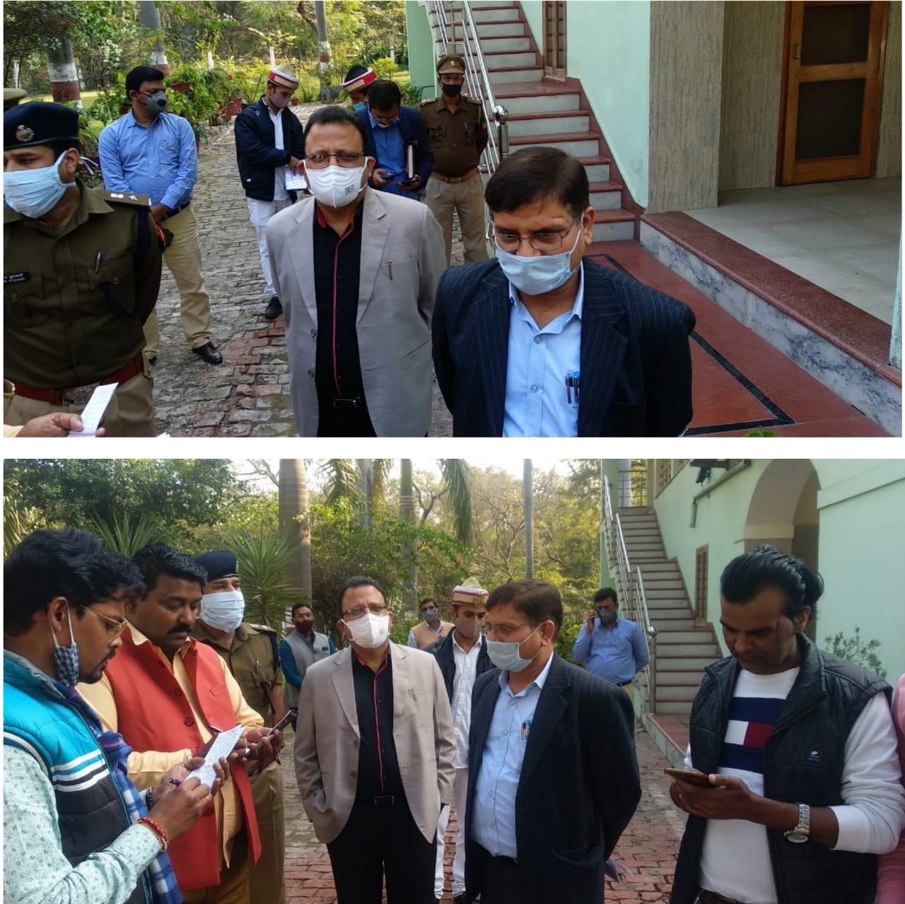 विधानसभा निर्वाचन क्षेत्रों की निर्वाचक नामावली का विशेष संक्षिप्त पुनरीक्षण मतदान केंद्रों का किया गया भ्रमण