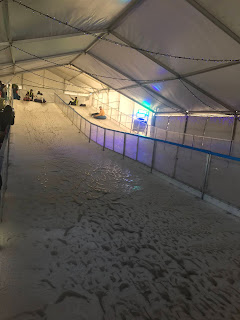 Picture of the ice toboggan at Hunter Valley Winter Festival