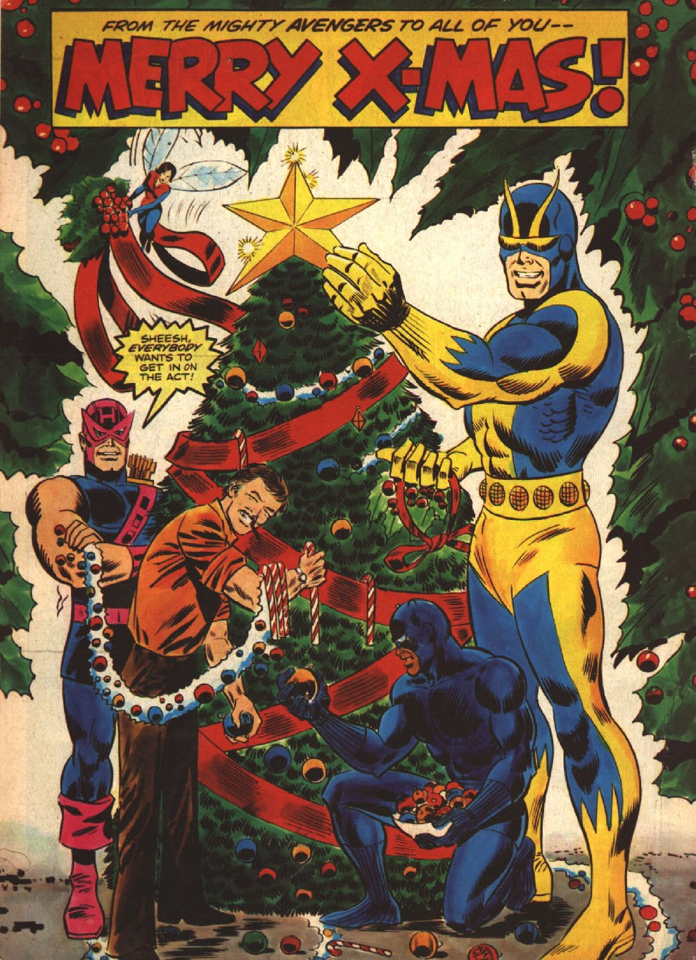 Bloody Pit Of Rod A Superhero Christmas