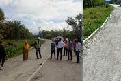 Kasihan Masyarakat Luwu Utara, Proyek Pekerjaan Jalan Telan Rp11 Miliar Diduga Asal Kerja