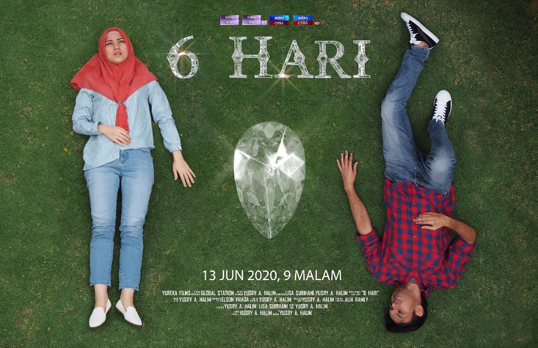 6 Hari Lakonan Lisa Surihani, Yusry Abdul Halim , Neelofa