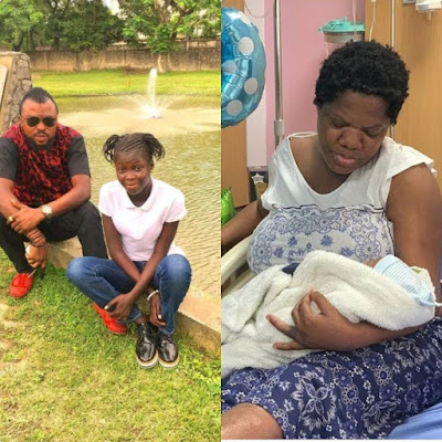 Toyin Abraham's Husband Introduces His Daughter To Clear People's Mindsets On False Report