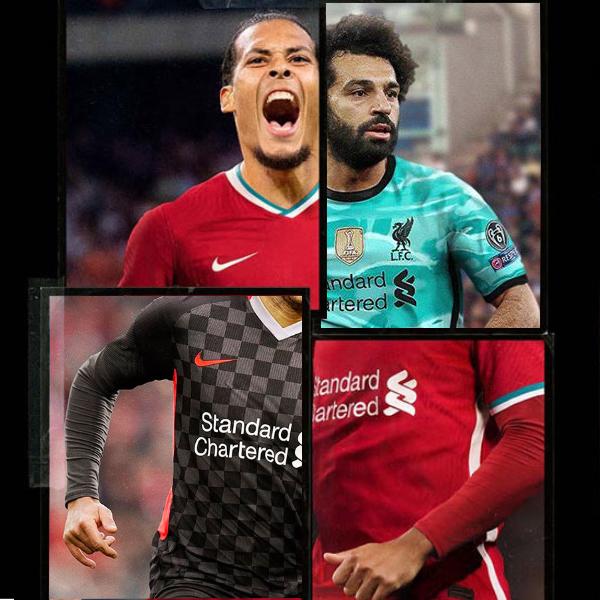 Liverpool FC Nike Kits 2020/21