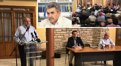 Τριαν. Αλμπάνης: Χαιρετισμός του νέου Πρύτανη με έντονο συμβολισμό στην ομιλία του Σπύρου Ριζόπουλου στην Ηγουμενίτσα