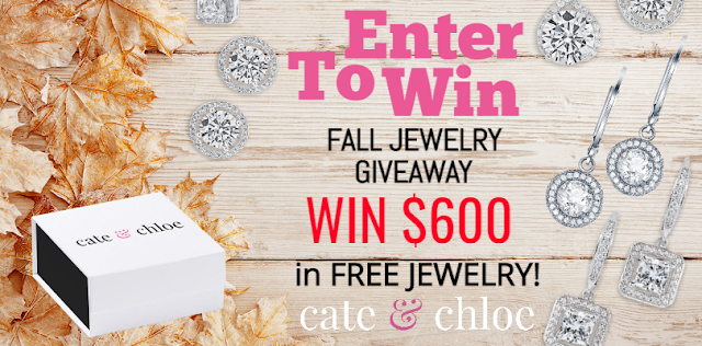 Cate & Chloe want to warm up your fall with a chance to win $600 worth of FREE jewelry! There will be three winners so be sure to enter for your chance!