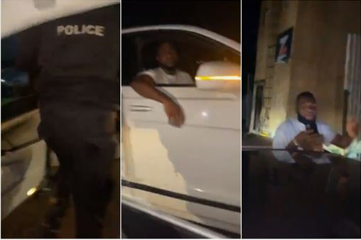 #EndSARS: See The Moment Davido Rescued Some Youths Being Extorted By Police Officers
