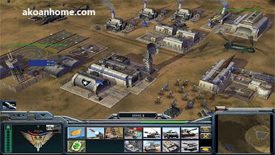 تحميل لعبة جنرال زيرو اور C&C Generals Zero Hour للكمبيوتر مجانا من مديا فاير