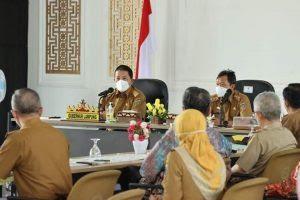Gubernur Arinal Gelar Pertemuan Kemitraan Pengembangan Usaha Tani Tanaman Pangan