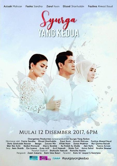 Drama Syurga Yang Kedua Lakonan Zarul Husin, Fasha Sandha, Elizad Sharifuddin
