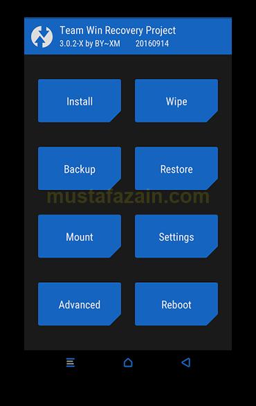 TWRP - Cara Memasang TWRP Xiaomi Redmi Note 3 Pro