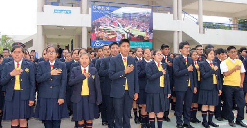 MINEDU: Cerca de 2 mil estudiantes de la Red COAR iniciaron clases con certificado de inglés de Cambridge - www.minedu.gob.pe