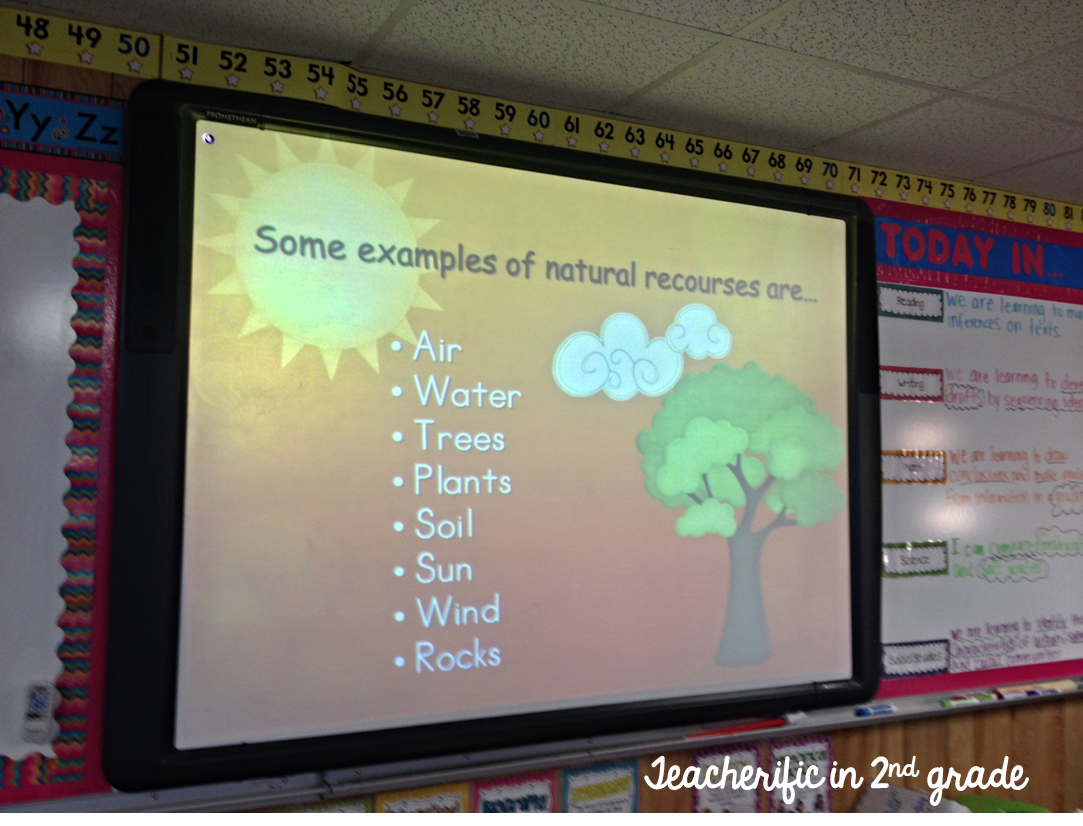 Teacherific Earth Materials And Natural Resources