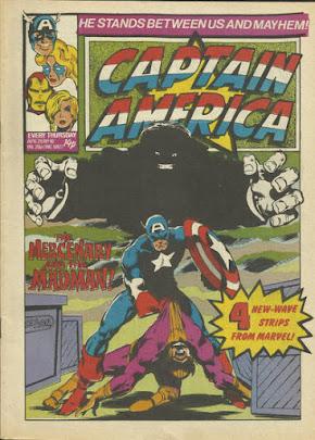 Captain America #10, Mr Hyde, Marve UK