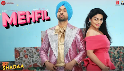 Mehfil - Shadaa song lyrics | diljit dosajhn new punjabi song 2019