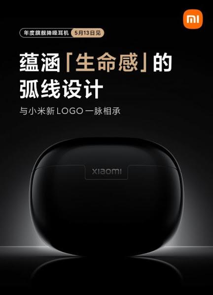 Xiaomi apresentará novos fones de ouvido com cancelamento de ruído no dia 13 de maio