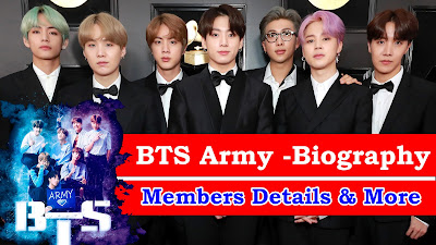 Celebrity Biography - BTS Army. BTS-ARmy-Biography