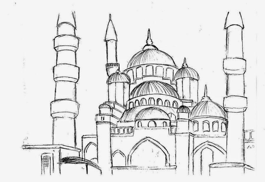 Cami Resmi Boyama Kolay Coloring Free To Print