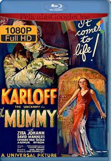 The Mummy (1932) [1080p BRrip] [Latino-Inglés] [LaPipiotaHD]