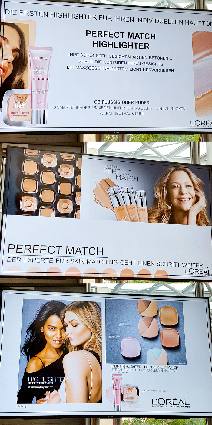 L´Oréal Paris Blogger Event am Tegernsee - Perfect Match Flüssig & Puder Highlighter - Neue Makeup Theke