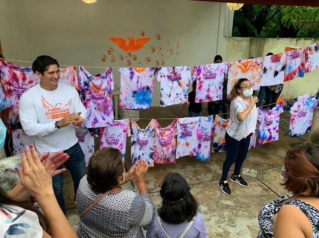 Presenta David Castro su proyecto legislativo a favor de las Mujeres