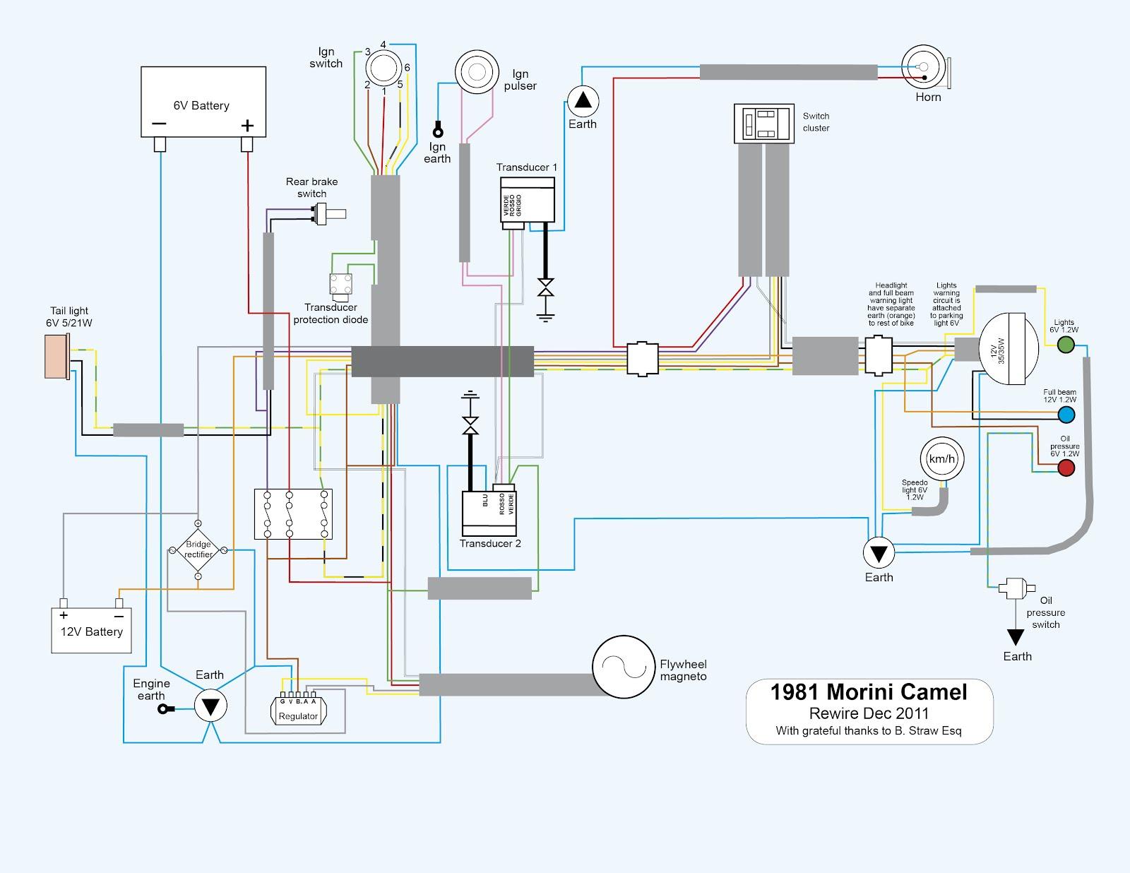medium resolution of old bike hack 2012 camel 2bloom 2bno 2bindics 2b12v 2bconversion old bike hack 2012 bsa morini 500 camel wiring diagram