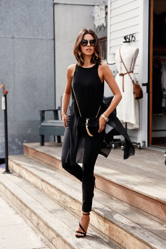 Trend Inspiration Black And White Summer Fashion