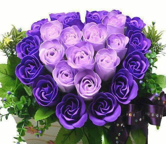Những bó hoa hồng đẹp dành tặng sinh nhật bạn gái 6