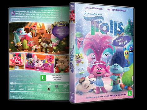 Capa DVD Trolls: Vamos Festejar [Exclusiva]