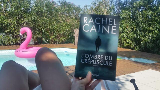 L'ombre du crépuscule - Rachel Caine - Tome 3 - trilogie Gwen Protor avis chronique happy books