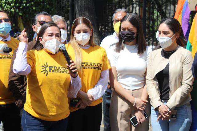 Verónica Juárez pide a tribunal electoral respaldar determinación del INE sobre Salgado y Morón