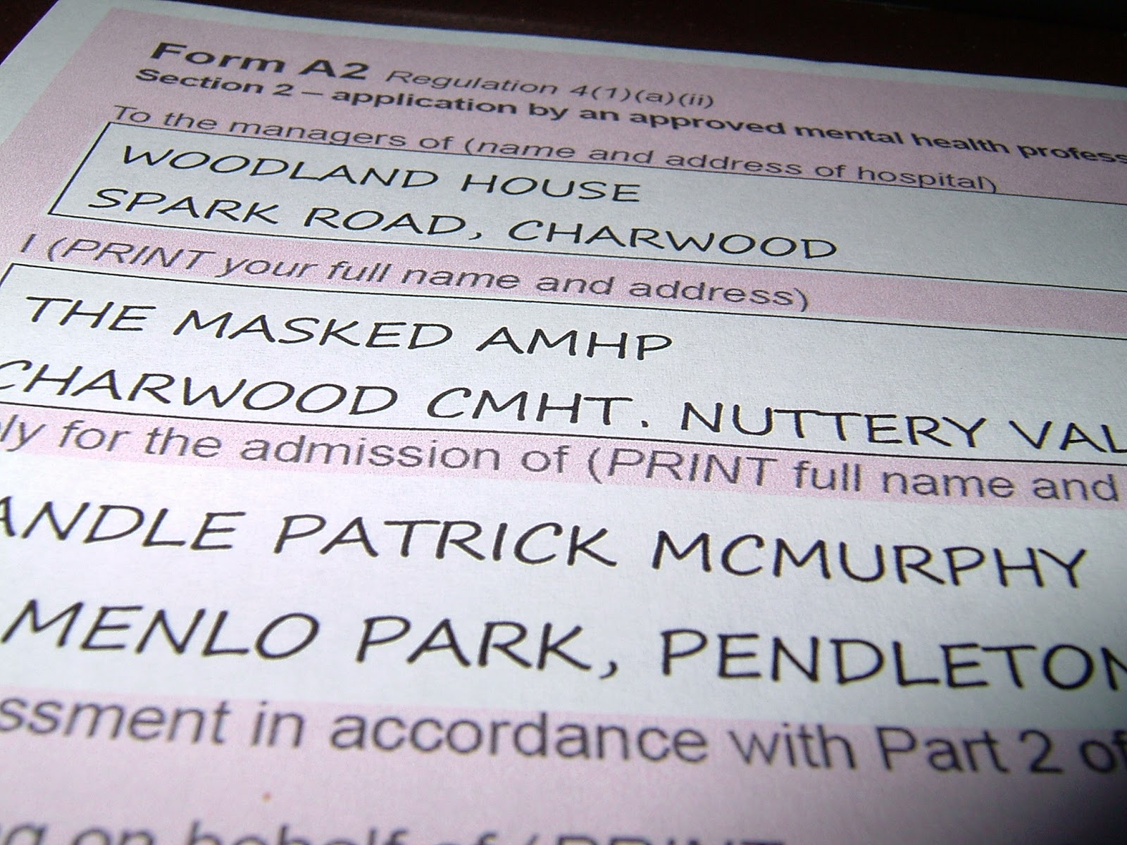 The Masked AMHP: Who Should Sign the Section Forms: the ...