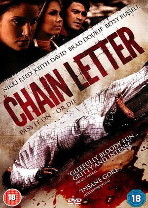 Random Horror Movie Review Chain letter 2010