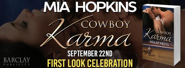 COWBOY KARMA by Mia Hopkins @MaryHopkinsxoxo @Barclay_PR