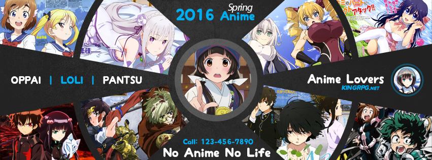 Spring 2016 Anime