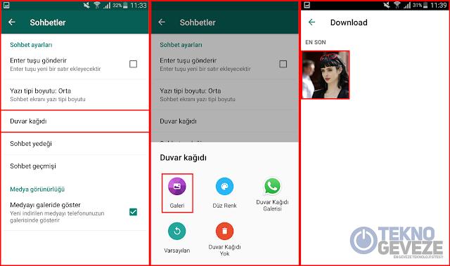 WhatsApp Arka Plan Resmi Nasıl Değiştirilir ? Rehber
