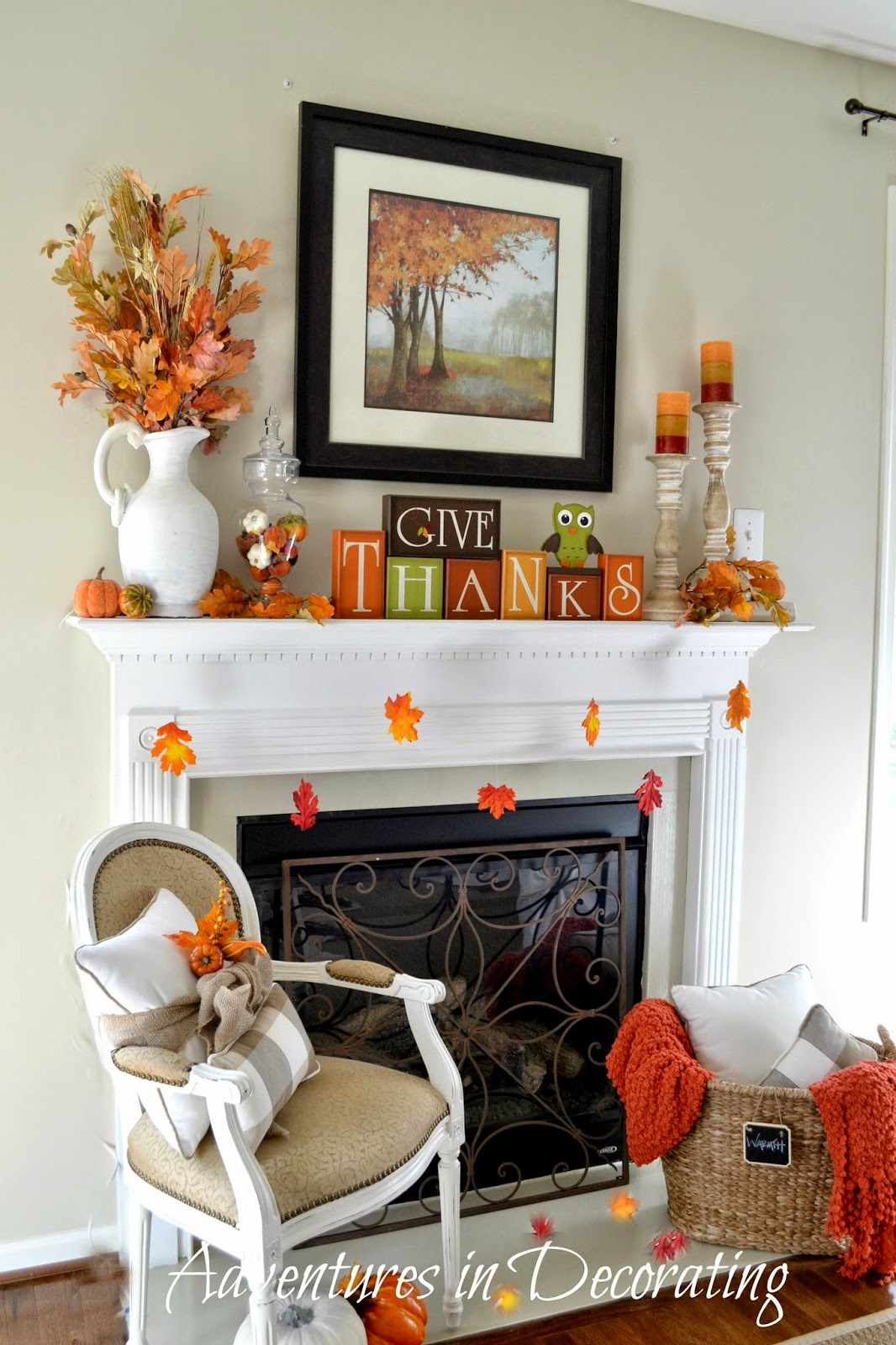Adventures In Decorating Our Fall Kitchen: Adventures In Decorating: September 2014